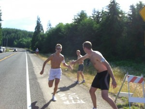 Тренировка и техника эстафетного бега