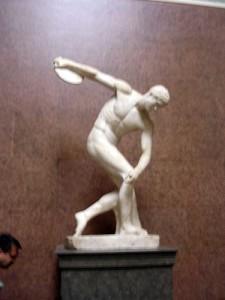 Олимпийские игры в древней Греции – метание диска