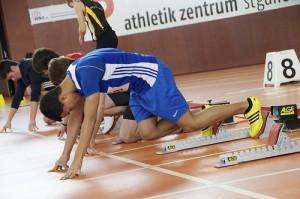 Упражнения в беге на короткие дистанции