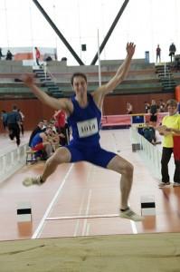 Тренировка  прыжков в длину с разбега