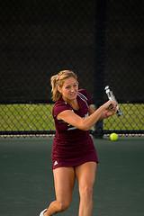 Большой теннис – удар слева двумя руками