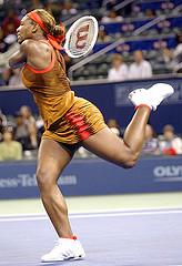Большой теннис – удар с полуотскока