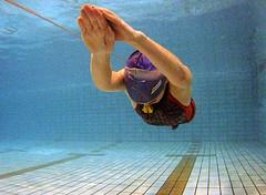 Обучение повороту в плавании