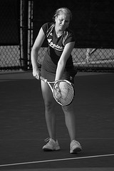 Направление подачи в большом теннисе