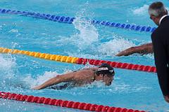 Техника плавания баттерфляем (дельфином) – дыхание