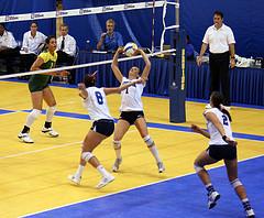 Упражнения для развития скорости волейболистов