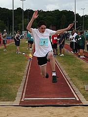 Упражнения для изучения отталкивания в прыжках в длину
