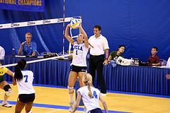 Упражнения для совершенствования верхних передач в волейболе