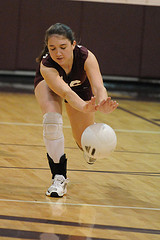 Упражнения для тренировки падений в волейболе