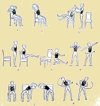 Физические упражнения для детей 7—9 летнего возраста