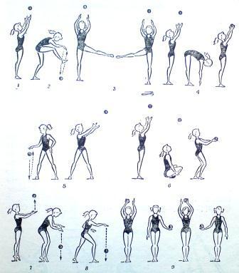 Утренняя гимнастика для детей 10—12 летнего возраста.