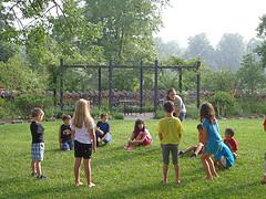 Подвижные игры для детей 5—6 летнего возраста без взрослых
